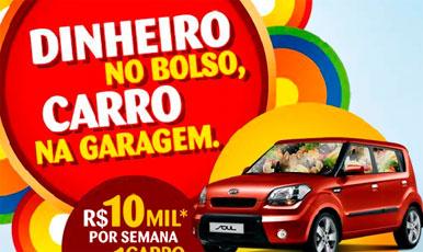 PROMOÇÃO DINHEIRO NO BOLSO, CARRO NA GARAGEM - WWW.SONDA.COM.BR/PROMOCAO