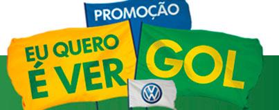 WWW.VW.COM.BR/EUQUEROEVERGOL - PROMOÇÃO EU QUERO É VER GOL