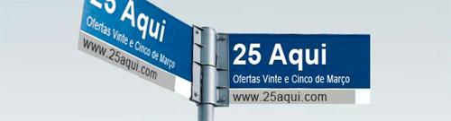 25AQUI.COM - LOJA VIRTUAL DA 25 DE MARÇO