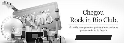 CARTÃO ROCK IN RIO CLUB