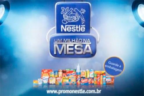 PROMOÇÃO NESTLÉ UM MILHÃO NA MESA, WWW.PROMONESTLE.COM.BR