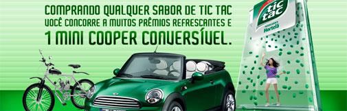 PROMOÇÃO VOCÊ NA REFRESCÂNCIA TIC TAC - WWW.TICTAC.COM.BR
