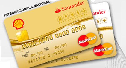 CARTÃO SHELL SANTANDER - WWW.SHELL.COM.BR/CARTAO