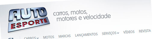 G1.COM.BR/CARROS - GUIA DE CARROS, MOTOS, MOTORES E VELOCIDADE