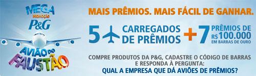 MEGA PROMOÇÃO AVIÃO DO FAUSTÃO - WWW.PROVOUGOSTOU.COM.BR