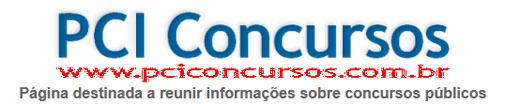 PCI CONCURSOS PÚBLICOS - WWW.PCICONCURSOS.COM.BR