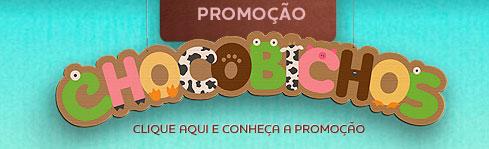 PROMOÇÃO CHOCOBICHOS CACAU SHOW - WWW.CACAUSHOW.COM.BR/CHOCOBICHOS