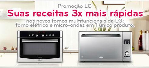 PROMOÇÃO LG - SUAS RECEITAS 3X MAIS RÁPIDAS - WWW.LGLTGC.COM.BR