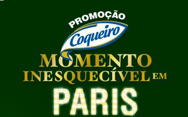 WWW.PROMOCAOCOQUEIRO.COM.BR - PROMOÇÃO MOMENTO INESQUECÍVEL EM PARIS