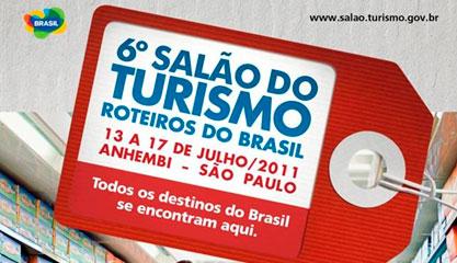 SALÃO DO TURISMO - ROTEIROS DO BRASIL - WWW.TURISMO.GOV.BR
