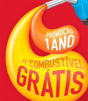 WWW.UMANODECOMBUSTIVELGRATIS.COM.BR - PROMOÇÃO UM ANO DE COMBUSTÍVEL GRÁTIS