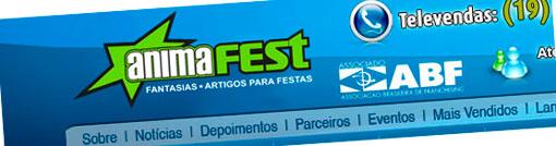 ANIMAFEST - FANTASIAS E ARTIGOS PARA FESTAS - WWW.ANIMAFEST.COM.BR