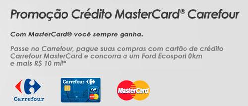 PROMOÇÃO CRÉDITO MASTERCARD CARREFOUR - WWW.NAOTEMPRECO.COM.BR/CARREFOUR