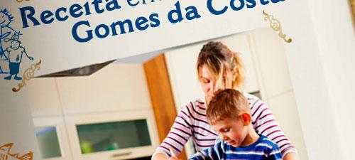 PROMOÇÃO GOMES DA COSTA - RECEITA EM FAMÍLIA - WWW.GOMESDACOSTA.COM.BR