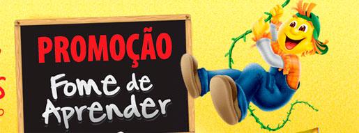PROMOÇÃO FOME DE APRENDER - WWW.LANCHINHOSORTIDO.COM.BR