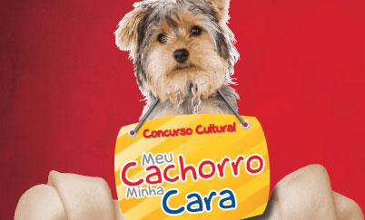 PROMOÇÃO MEU CACHORRO MINHA CARA - WWW.MEUCACHORROMINHACARA.COM.BR