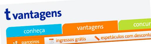 T VANTAGENS TELEFÔNICA, PRÊMIOS, DESCONTOS - WWW.TVANTAGENS.COM.BR