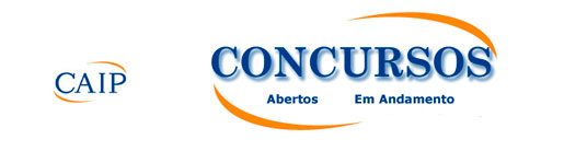 CAIPIMES CONCURSOS - CAIP - COORDENADORIA DE APOIO A INSTITUIÇÃO PÚBLICA
