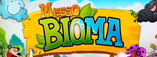 G1.COM.BR/MISSAOBIOMA - GAME MISSÃO BIOMA DA GLOBO