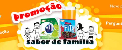 PROMOÇÃO SABOR DE FAMÍLIA - WWW.PROMOCAOMIDFIT.COM.BR