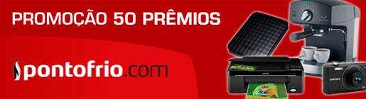 PROMOÇÃO SKY 50 PRÊMIOS PONTOFRIO.COM