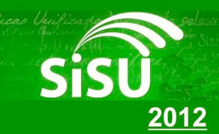 SISU 2012 - INSCRIÇÕES, VAGAS, INSTITUIÇÕES - WWW.SISU.MEC.GOV.BR
