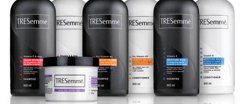 TRESEMMÉ SHAMPOO, UNILEVER - WWW.TRESEMME.COM.BR