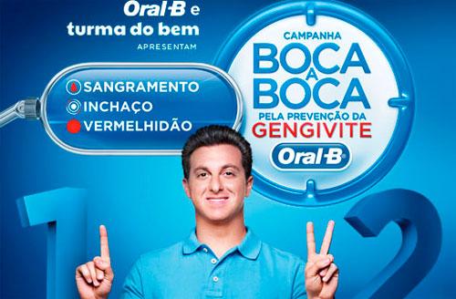 WWW.BOCAABOCAORALB.COM.BR - CAMPANHA BOCA A BOCA PELA PREVENÇÃO DA GENGIVITE - ORAL-B
