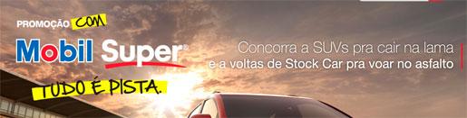 WWW.PROMOCAOMOBILSUPERPISTA.COM.BR - PROMOÇÃO COM MOBIL SUPER TUDO É PISTA