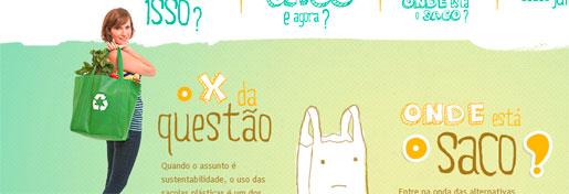 WWW.SEMSACOLAPLASTICA.COM.BR - CAMPANHA SEM SACOLA PLÁSTICA - WALMART BRASIL