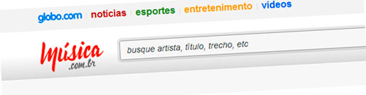 WWW.MUSICA.COM.BR - SITE DE MÚSICAS DA GLOBO - MÚSICA