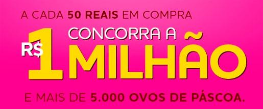 WWW.PASCOAMILIONARIA.COM.BR - PROMOÇÃO PÁSCOA MILIONÁRIA CACAU SHOW