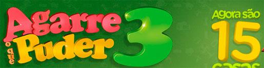 PROMOÇÃO AGARRE O QUE PUDER 3 2012 MAGAZINE LUIZA