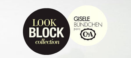 WWW.CEA.COM.BR/LOOKBLOCK - GISELE BÜNDCHEN - BLOOK BLOCK C&A