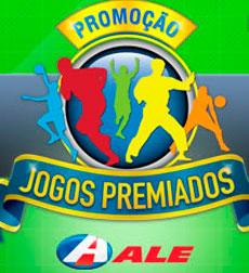 WWW.JOGOSPREMIADOS.COM.BR - PROMOÇÃO JOGOS PREMIADOS POSTOS ALE