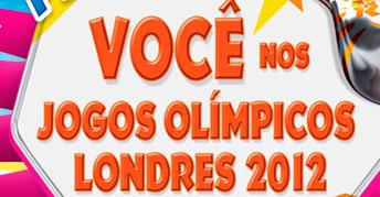 WWW.DOW.COM/PROMO - PROMOÇÃO YOKITOS VOCÊ NOS JOGOS OLÍMPICOS LONDRES 2012