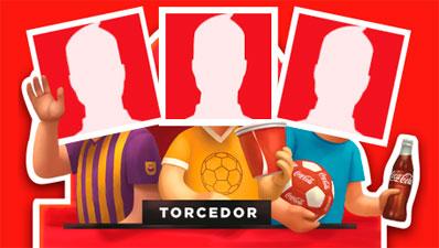WWW.TORCIDACOCACOLA.COM.BR - PROMOÇÃO CRIE SEU TIPO DE TORCEDOR - TORCIDA COCA-COLA