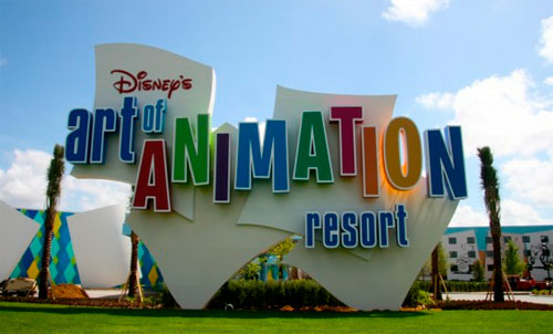 DISNEY ART OF ANIMATION RESORT - HOTEL NA DISNEY