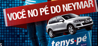 WWW.NOPEDONEYMAR.COM.BR - PROMOÇÃO TENYS PÉ BARUEL 2012