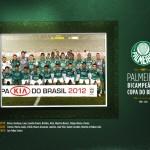 POSTER DO PALMEIRAS CAMPEÃO DA COPA DO BRASIL 2012