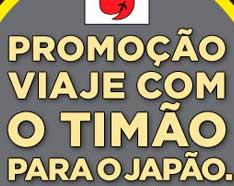 PROMOÇÃO VIAJE COM O TIMÃO PARA O JAPÃO - WWW.VIAJECOMOTIMAOPARAOJAPAO.COM.BR