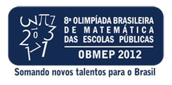 WWW.OBMEP.ORG.BR - OBMEP 2012 - OLIMPÍADAS DE MATEMÁTICA 2012