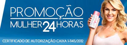 PROMOÇÃO MULHER 24 HORAS DERMACYD - WWW.PROMOCAOMULHER.COM.BR