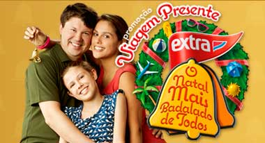 WWW.FAMILIAEXTRA.COM.BR/NATAL2012 - PROMOÇÃO EXTRA VIAGEM PRESENTE