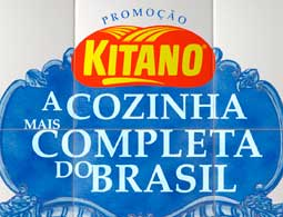 PROMOÇÃO KITANO A COZINHA MAIS COMPLETA DO BRASIL