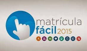 MATRÍCULA FÁCIL 2015 - WWW.MATRICULAFACIL.COM.BR