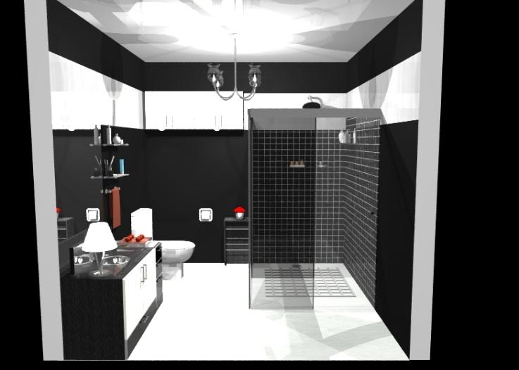 PORCELANATO PARA BANHEIRO, FOTOS, DICAS # Banheiro Pequeno Com Porcelanato Preto